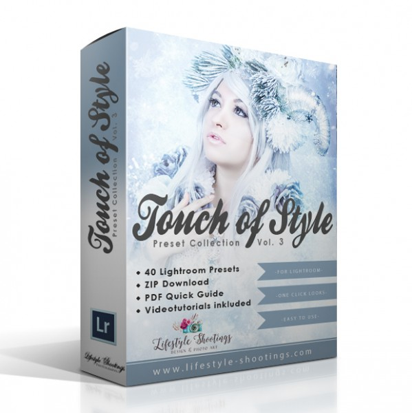 "Lightroom Preset Collection ""Touch of Style"" Vol. 3"