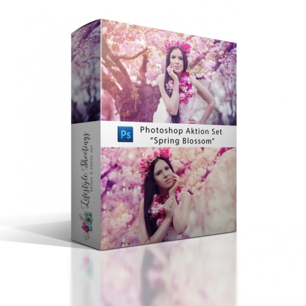 "Photoshop Aktion Set ""Spring Blossom"""