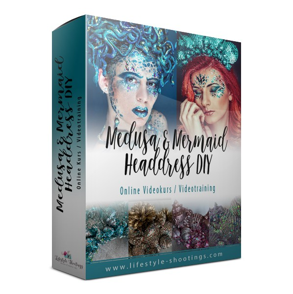 Videotraining DIY Medusa & Mermaid Headdress Design