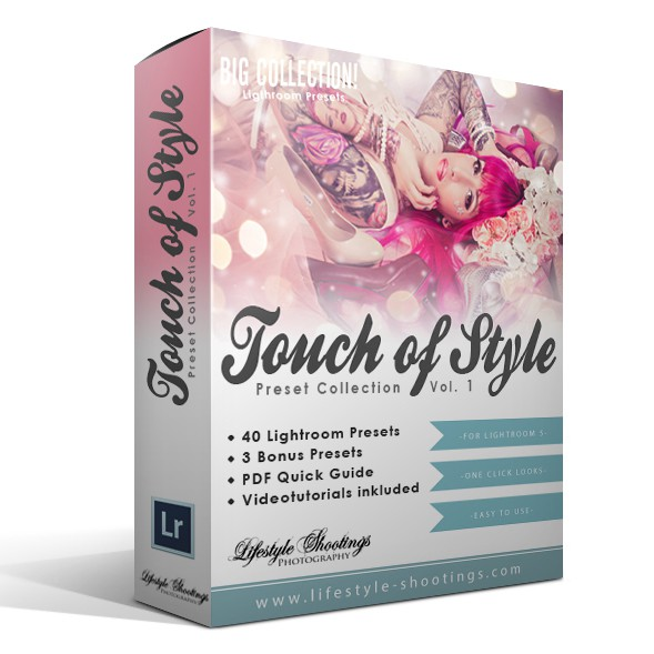 Lightroom Preset Collection - Touch of Style Vol. 1