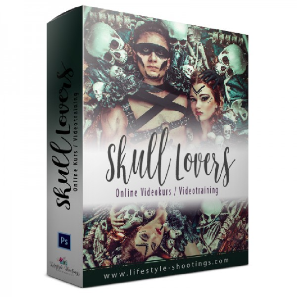 Photoshop Videotraining – Skull Lovers