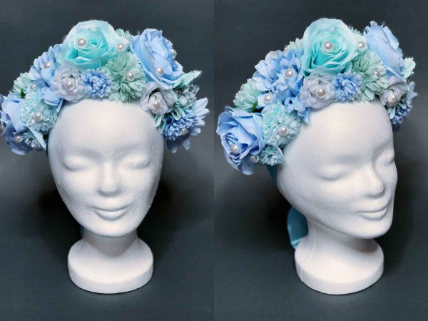 "Headdress ""Blue Dream"""