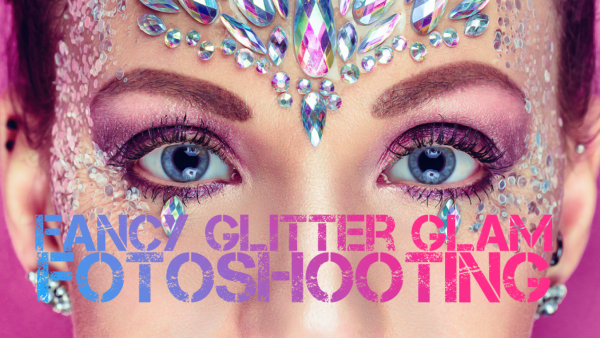Fancy Glitter Glam Fotoshooting