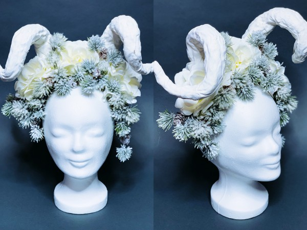 "Headdress ""Wintertraum"""